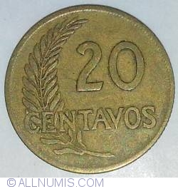 Image #2 of 20 Centavos 1962