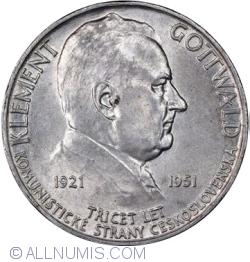 Image #2 of 100 Korun 1951 - Communist Party
