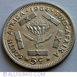 5 Cents 1964