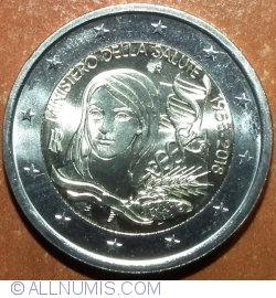 2 Euro 2018 - 60th Anniversary of the Italian Ministry of Health