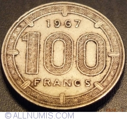 Image #1 of 100 Francs 1967