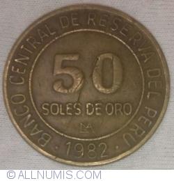 Imaginea #1 a 50 Soles De Oro 1982 - LIMA