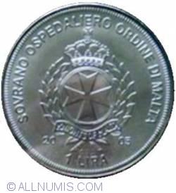Image #1 of 1 Lira 2005 - Pope Habemus