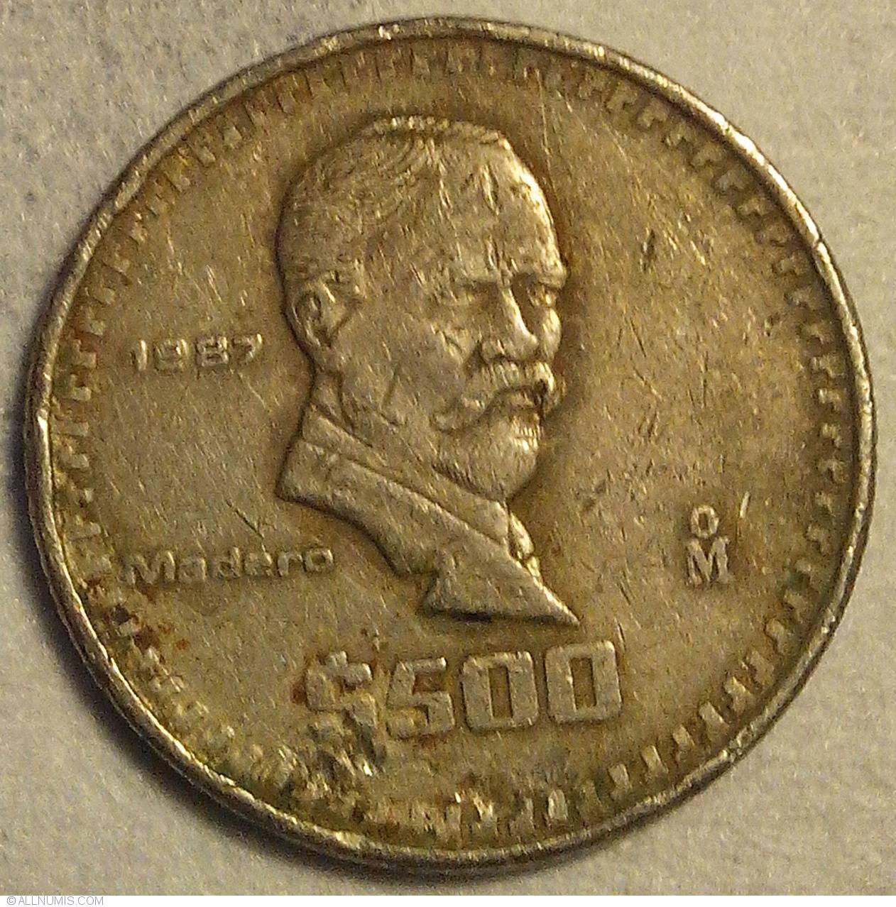 500 Pesos 1987