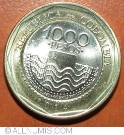 Image #1 of 1000 Pesos 2014