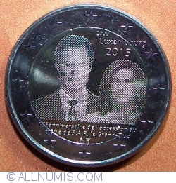Image #2 of 2 Euro 2015 - 15th Anniversary of the accession to the throne of Grand Duke Henri