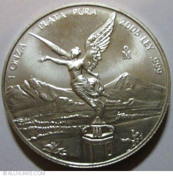 1 Onza 2005 Libertad United Mexican States 2001