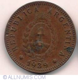 Image #2 of 2 Centavos 1939