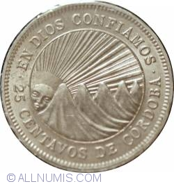 Image #2 of 25 Centavos 1956