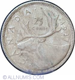 25 Cents 1937