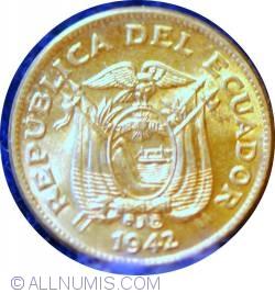Imaginea #2 a 5 Centavos 1942