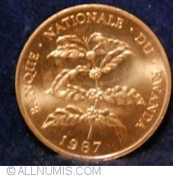 Image #1 of 5 Francs 1987