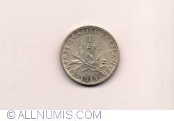 Image #1 of 1 Franc 1919