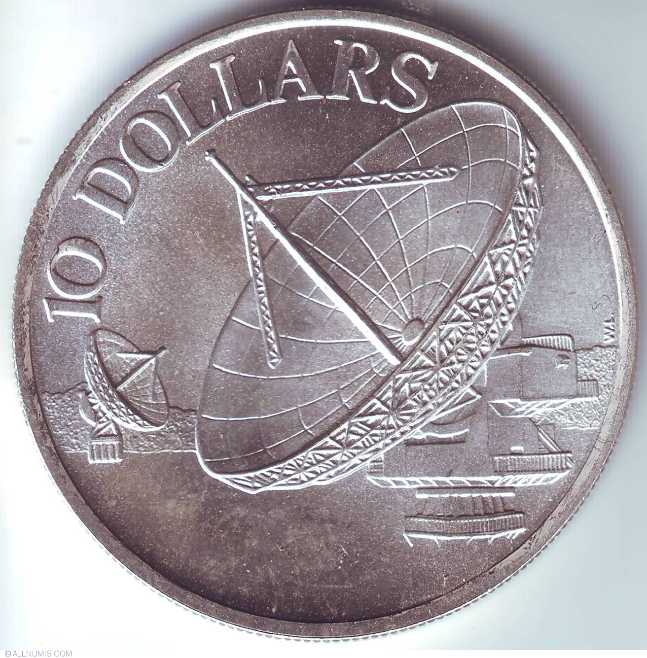 10 Dollars 1978 Republic 1965 1980 Singapore Coin