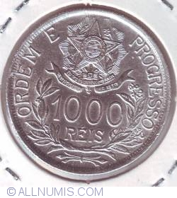 Imaginea #1 a 1000 Reis 1912