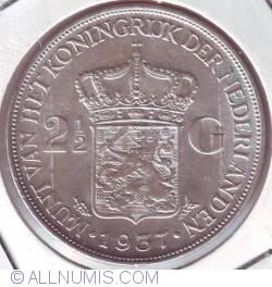 Image #1 of 2 1/2 Gulden 1937