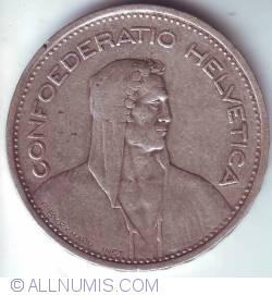 Image #2 of 5 Francs 1952 B