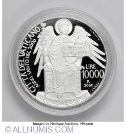 Image #1 of [PROOF] 10000 Lire 2000