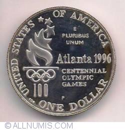 Image #1 of 1996 Atlanta Olympics - High Jump Dollar 1996 P