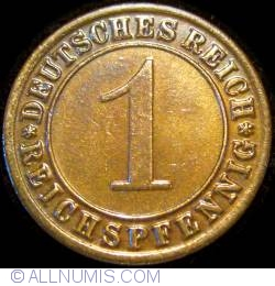 Image #1 of 1 Reichspfennig 1931 G