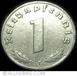 Image #1 of 1 Reichspfennig 1943 J