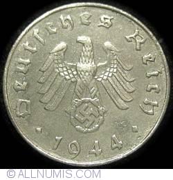 Image #2 of 10 Reichspfennig 1944 G