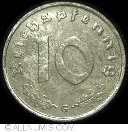 Image #1 of 10 Reichspfennig 1944 G