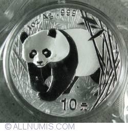 Imaginea #1 a 10 Yuan 2002 - Panda
