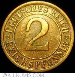 Image #1 of 2 Reichspfennig 1925 E