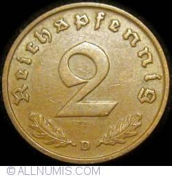 Image #1 of 2 Reichspfennig 1936 D