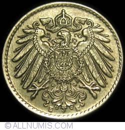 Image #2 of 5 Pfennig 1921 E