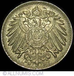 Image #2 of 5 Pfennig 1921 G