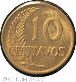 Image #2 of 10 Centavos 1963