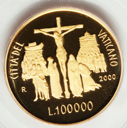 Image #1 of [PROOF] 100000 Lire 2000