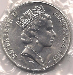 Image #2 of 10 Dollars 1986 - 150th anniversary of South Australia