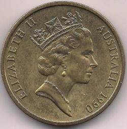 Image #2 of 5 Dollars 1990 - ANZAC memorial