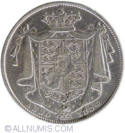 Imaginea #2 a Half Crown 1834