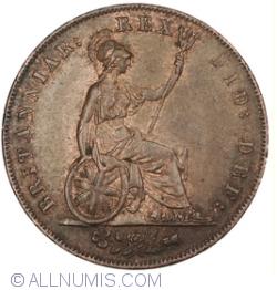 Image #2 of Halfpenny 1826
