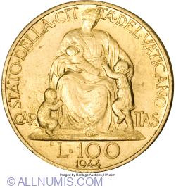 100 Lire 1944 (VI)