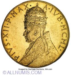 100 Lire 1950 - Holy Year