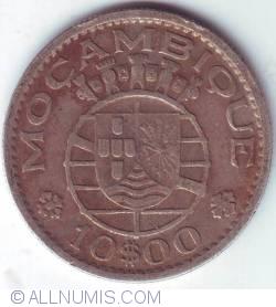 Image #1 of 10 Escudos 1954