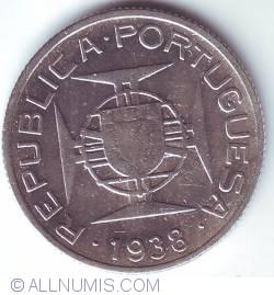 Image #2 of 2 1/2 Escudos 1938