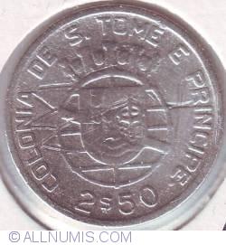 Image #1 of 2 1/2 Escudos 1939