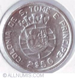 Image #1 of 2 1/2 Escudos 1948