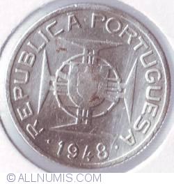 Image #2 of 2 1/2 Escudos 1948