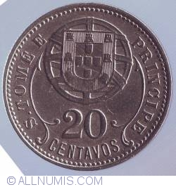 Image #2 of 20 Centavos 1929