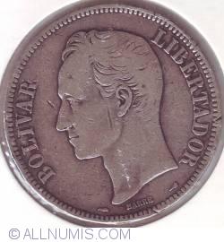 Imaginea #2 a 5 Bolivares 1911