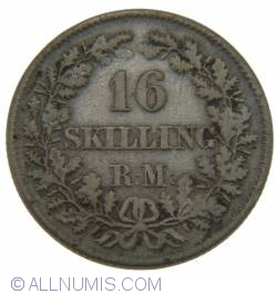 Image #2 of 16 Skilling Rigsmont 1856