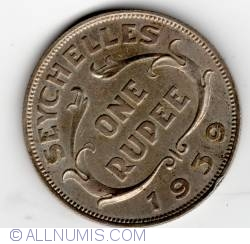 Image #1 of 1 Rupee 1939