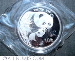 Imaginea #2 a 10 Yuan 2004 - Panda